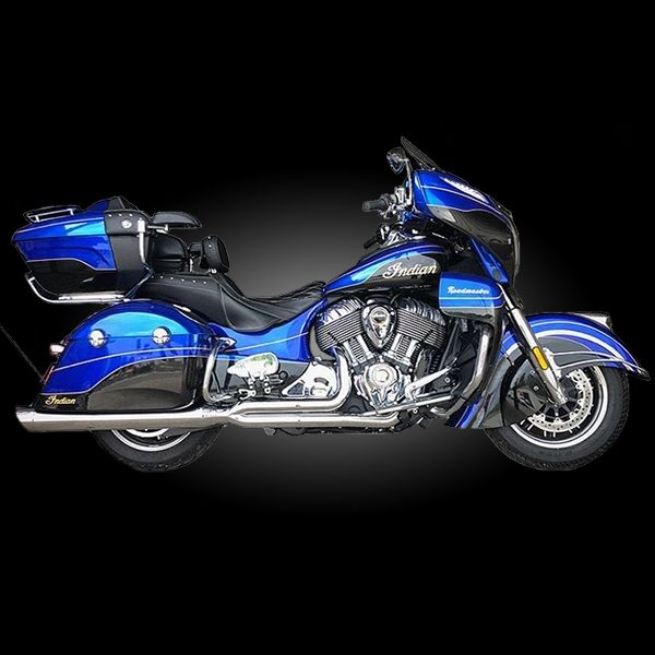 2017 /& Newer Harley Touring D/&D M8 Billet Cat 2 into 1 Exhaust Chrome with Chrome Multidirectional Tip
