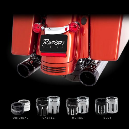 "Rinehart Racing 4"" Slip-On Mufflers"