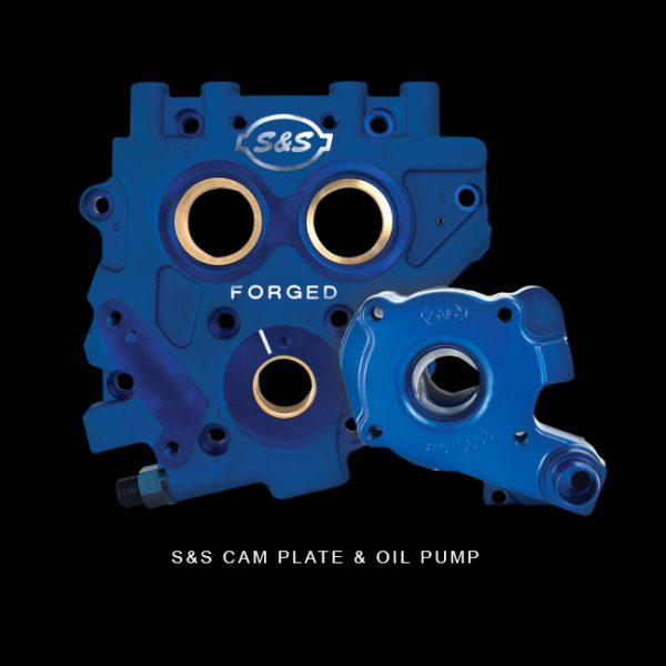 S&S Cam Plate & Oil Pump