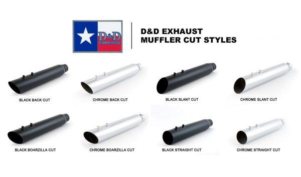D&D Muffler Cut Options