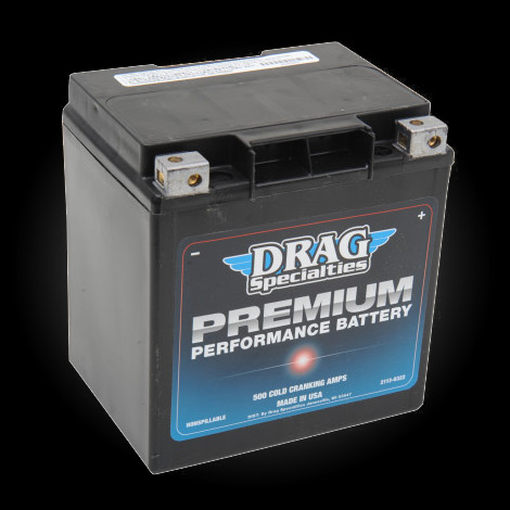Drag Specialties Premium Performance Battery