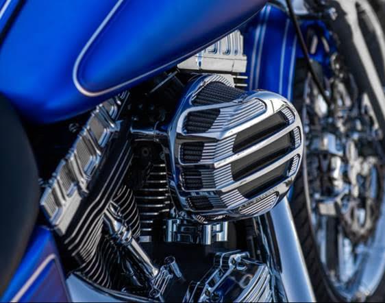 Arlen Ness Sidekick Series Chrome Air Intake