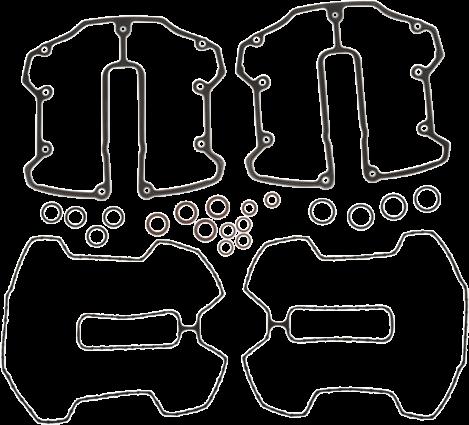 Cometic Rocker Box Gasket Kit (Milwaukee-Eight C10226)