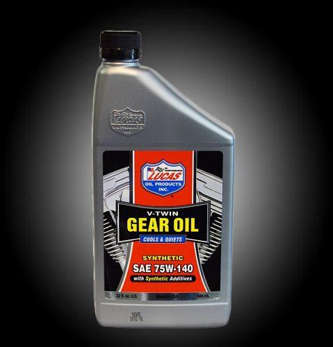 Lucas gear oil 75W-140