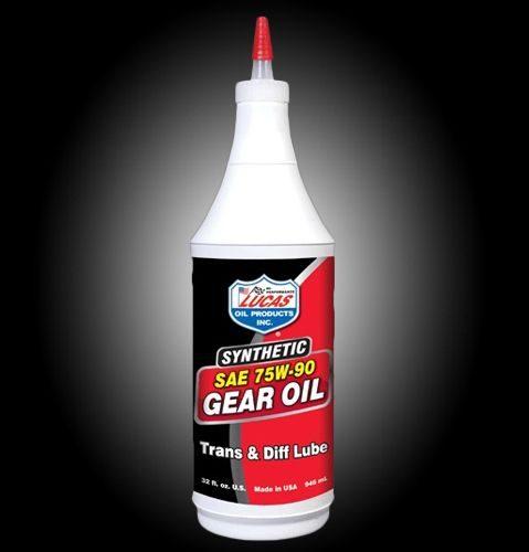 Lucas gear oil 75W-90