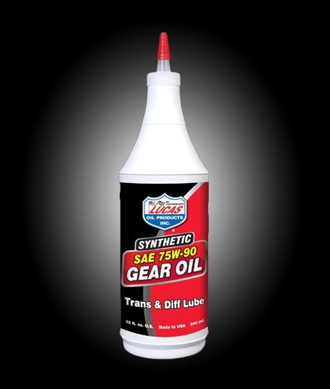 Lucas gear oil 75W-90