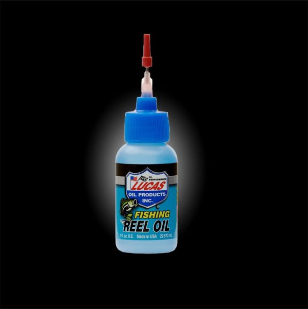 Lucas Fishing Reel Oil bottle