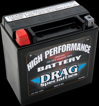 Drag Specialties V-Rod Battery