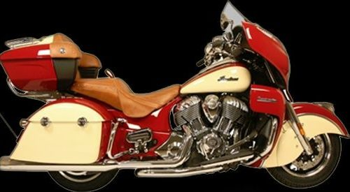 Rush Racing Products I1005 War Horse True Dual Head Pipes Chrome or Black For 2014-Newer Indian Models