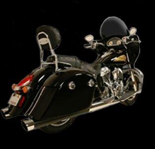 Rush War Horse Slip-On Mufflers Black