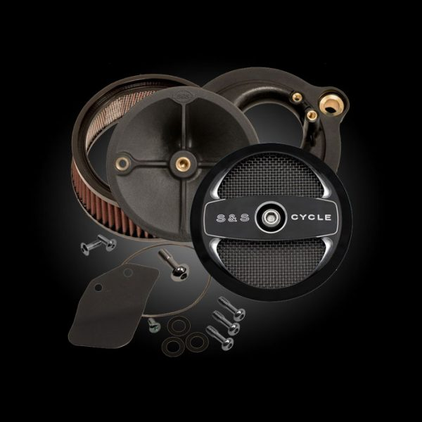 S&S Cycle Stealth Air Cleaner with Air 1 Cover