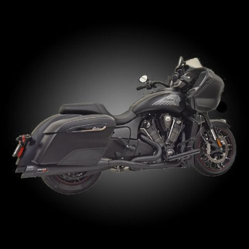 Bassani 8H16SB True Duals for Indian Challenger