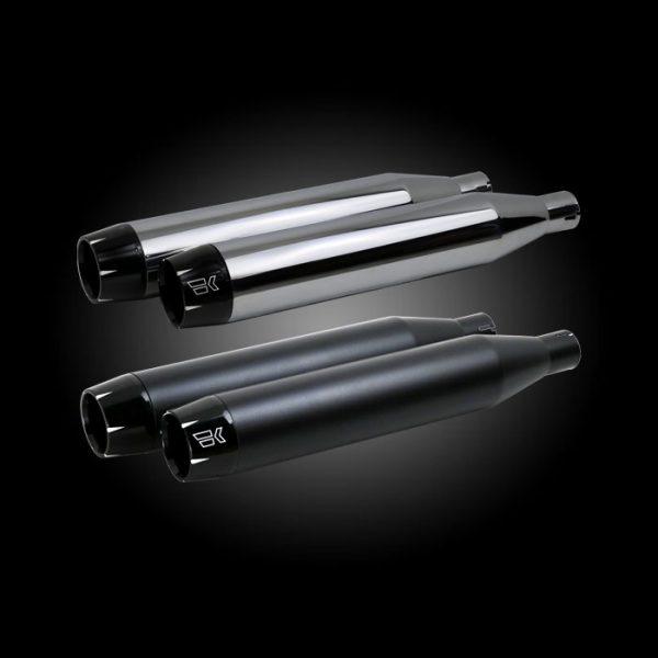 Khrome Werks Shredder Slip-On Mufflers for M8 Softails