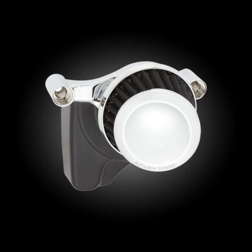 Arlen Ness Mini 22 Chrome Performance Air Cleaner